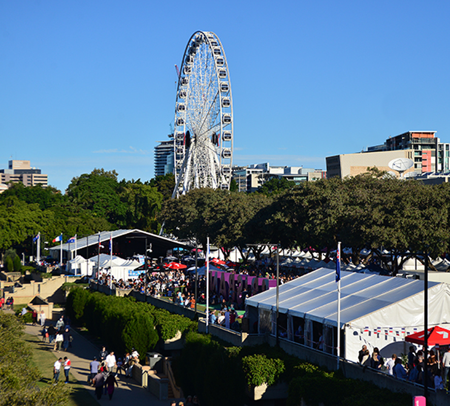 Le Festival Brisbane French Festival venue brisbane wheel