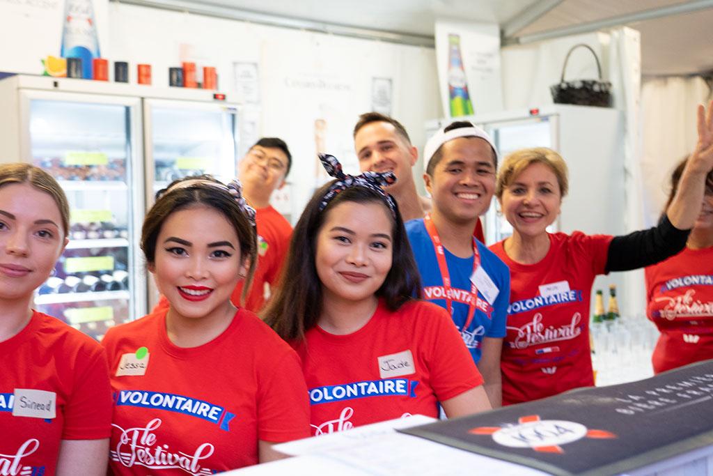 Le Festival - Brisbane French Festival - Volunteers 2